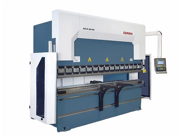 220 Ton press folding profiles up to 3m.
