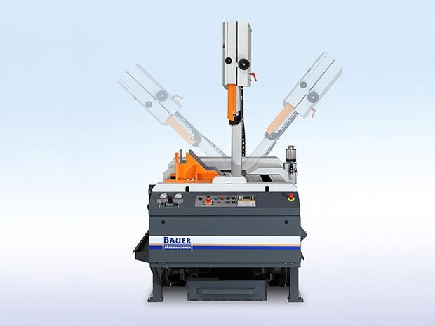 5 band saws with the capability of cutting section up to 500mm.